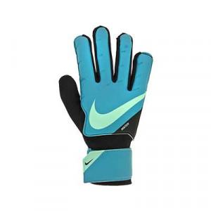 Nike GK Match Jr - Guantes de portero infantiles Nike corte flat - azul turquesa - miniatura frontal derecho