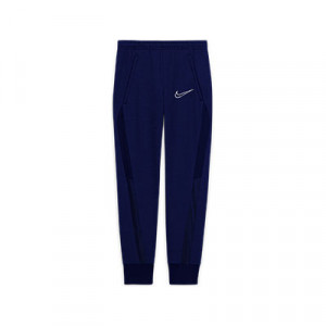 Pantalón largo Nike niño Dry Academy - Pantalón largo de chándal para niño Nike - azul marino - frontal