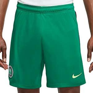 Short Nike Nigeria 2020 2021 Stadium - Pantalón corto primera equipación Nike selección de Nigeria 2020 2021 - verde - frontal