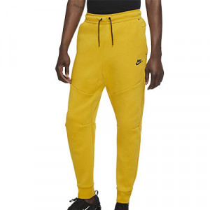 Pantalón Nike Sports Wear Tech Fleece Jogger - Pantalón largo de algodón Nike - amarillo - frontal