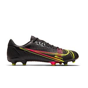 Nike Mercurial Vapor 14 Academy FG/MG - Botas de fútbol Nike FG/MG para césped artificial - negras - pie derecho