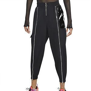 Pantalón Nike mujer Icon Clash Woven - Pantalón largo de calle para mujer Nike - negro - frontal