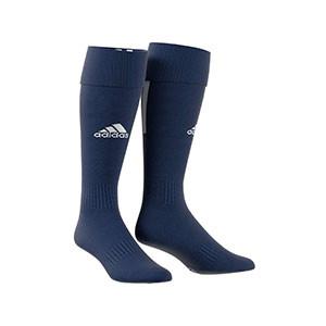 Medias adidas Santos 18 - Medias de fútbol adidas - azul marino - frontal