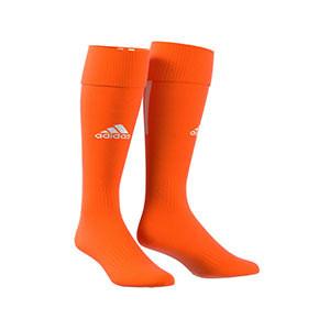 Medias adidas Santos 18 - Medias de fútbol adidas - naranjas - frontal