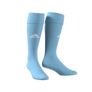 Medias adidas Santos 18 - Medias de fútbol adidas - azul celeste - frontal