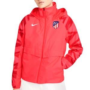 Cortavientos Nike Atlético All Weather Fan mujer - Chaqueta cortavientos Nike del Liverpool FC - rosa rojiza - frontal
