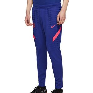 Pantalón Nike Barcelona entreno 2021 Vaporknit Strike - Pantalón largo de entrenamiento Nike FC Barcelona 2021 - azul - frontal