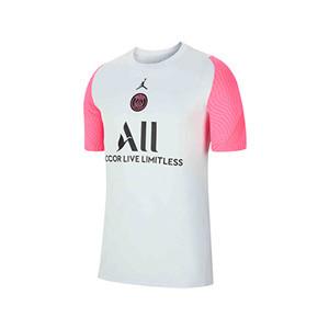 Camiseta Nike PSG entreno 2021 Strike - Camiseta entrenamiento Nike del París Saint-Germain 2021 - gris - frontal