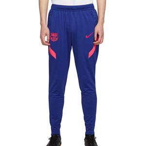 Pantalón Nike Barcelona entreno 2021 Strike - Pantalón largo de entrenamiento Nike del FC Barcelona 2021 - azul marino - frontal