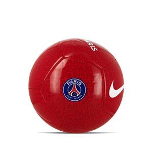 Balón Nike PSG Pitch talla 5 - Balón de fútbol Nike del Paris Saint-Germain talla 5 - rojo - miniatura