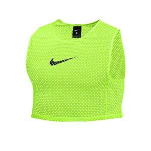Peto entrenamiento Nike Training - Peto de entreno corto Nike - amarillo flúor - frontal