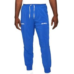 Pantalón Nike FC Dri-Fit Woven Joga Bonito - Pantalón largo de calle Nike de la colección Joga Bonito - azul - frontal