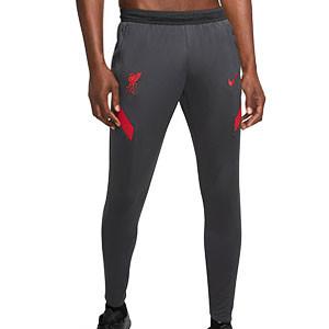 Pantalón Nike Liverpool entreno 2020 2021 Strike - Pantalón largo de entrenamiento Nike del Liverpool FC 2020 2021 - gris oscuro - frontal