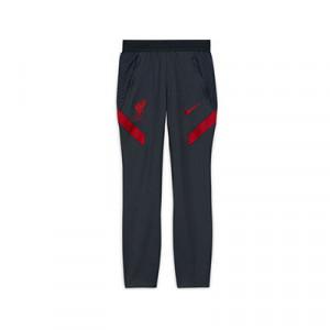 Pantalón Nike Liverpool niño entreno 2020 2021 Strike - Pantalón largo de entrenamiento infantil Nike del Liverpool FC 2020 2021 - gris oscuro - frontal