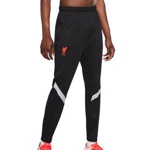 Pantalón Nike Liverpool entreno UCL 2020 2021 Strike - Pantalón largo de entrenamiento Nike del Liverpool FC de la Champions League 2020 2021 - negro - frontal