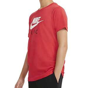 Camiseta Nike Liverpool niño Ground - Camiseta de algodón infantil Nike del Liverpool FC - roja - frontal