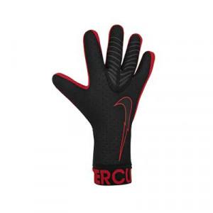 Nike GK Mercurial Touch Elite - Guantes de portero profesionales Nike corte negativo - negros y rojos - frontal derecho