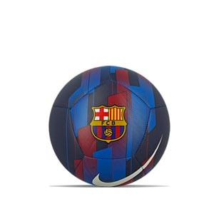 Balón Nike Barcelona Pitch talla 4 - Balón de fútbol Nike del FC Barcelona de talla 4 - azul - frontal