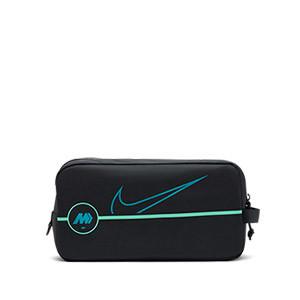 Zapatillero Nike Mercurial - Porta botas fútbol Nike (35 x 15 x 18 cm) - negro - frontal