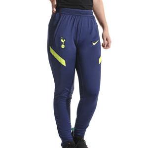 Pantalón Nike Tottenham Dri-Fit Strike mujer - Pantalón largo entrenamiento Nike Tottenham Hotspur 2021 2022 - azul marino - frontal