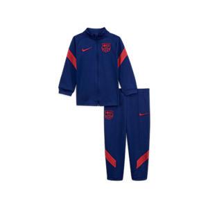 Chándal Nike Barcelona bebé Strike 2020 2021 - Chándal bebé Nike del FC Barcelona 2020 2021 - azul marino - frontal