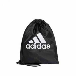 Gymbag adidas - Mochila de cuerdas adidas - negra - frontal