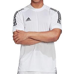 Camiseta adidas Condivo 20 - Camiseta de entrenamiento de fútbol adidas - blanca - frontal