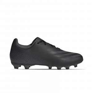 adidas X GHOSTED.4 FxG - Botas de fútbol adidas FxG para múltiples terrenos - negras - pie derecho