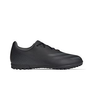 adidas X GHOSTED.4 TF - Botas de fútbol multitaco adidas suela turf - negras - pie derecho