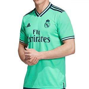 Camiseta adidas 3a R Madrid 2019 2020 - Camiseta adidas tercera equipación Real Madrid 2019 2020 - verde turquesa