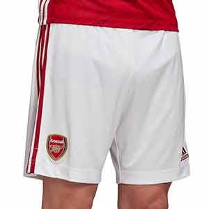 Short adidas Arsenal 2020 2021 - Pantalón corto primera equipación adidas del Arsenal FC 2020 2021 - blanco - frontal