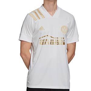 Camiseta adidas 2a Atlanta FC 2020 - Camiseta adidas segunda equipación Atlanta United FC 2020 de la MLS - blanca - frontal