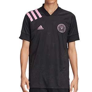 Camiseta adidas 2a Inter Miami CF 2020 - Camiseta adidas segunda equipación Inter Miami CF 2020 de la MLS - negra - frontal