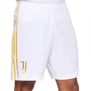 Short adidas Juventus 2020 2021 - Pantalón corto primera equipación adidas Juventus 2020 2021 - blanco - frontal