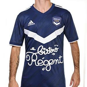 Camiseta adidas Girondins Bordeaux 2020 2021 - Camiseta primera equipación adidas del Girondins de Bordeaux 2020 2021 - azul marino - frontal