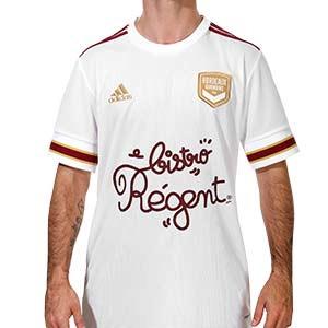 Camiseta adidas 2a Girondins de Bordeaux 2020 2021 - Camiseta segunda equipación adidas Girondins de Bordeaux 2020 2021 - blanca - frontal