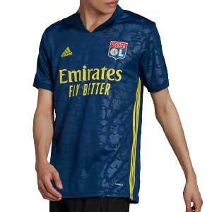 Camiseta adidas 3a Olympique de Lyon 2020 2021 - Camiseta tercera equipación adidas Olympique de Lyon 2020 2021 - azul marino - frontal
