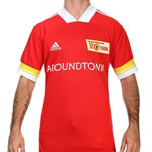 Camiseta adidas Unión Berlín 2020 2021 - Camiseta primera equipación adidas FC Unión Berlín 2020 2021 - roja - frontal