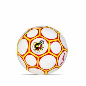 Balón Joma Comité Nacional Fútbol Sala España talla 62 cm - Balón de fútbol sala Joma del CNFS de España 2020 2021 - blanco y rojo - frontal