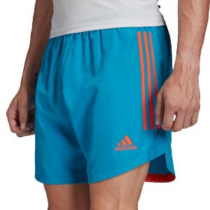 Short adidas Condivo 20 Primeblue - Pantalón corto de entrenamiento de fútbol adidas - azul - frontal