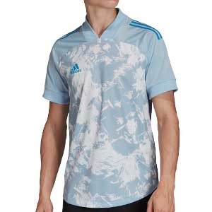 Camiseta adidas Condivo 20 - Camiseta entrenamiento fútbol adidas - azul celeste - frontal