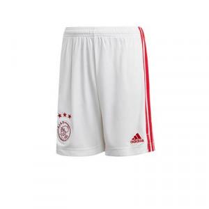 Short adidas Ajax niño 2020 2021 - Pantalón corto adidas infantil primera equipación Ajax 2020 2021 - blanco - frontal