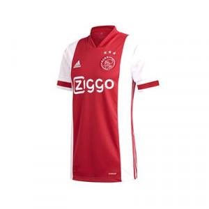Camiseta adidas Ajax niño 2020 2021 - Camiseta infantil primera equipación adidas Ajax 2020 2021 - roja y blanca - frontal