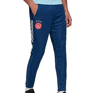 Pantalón adidas Ajax entreno 2020 2021 - Pantalón largo de entrenamiento adidas del Ajax 2020 2021 - azul marino - frontal