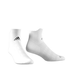 Calcetines adidas Alphaskin ultra finos - Calcetines tobilleros de entrenamiento adidas - blancos - frontal