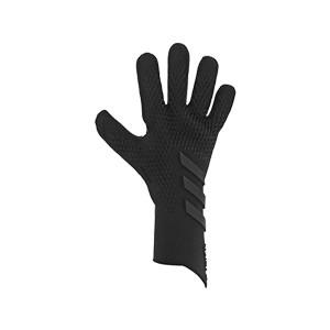 adidas Predator Pro - Guantes de portero profesionales adidas corte negativo - negros - frontal derecho
