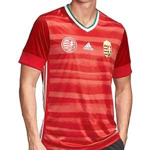Camiseta adidas Hungria 2019 2020 - Camiseta primera equipación selección húngara 2019 2020 - roja - frontal