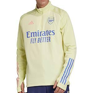 Sudadera adidas Arsenal entreno 2020 2021 Warm - Sudadera de entrenamiento de invierno adidas del Arsenal FC 2020 2021 - amarilla - miniatura