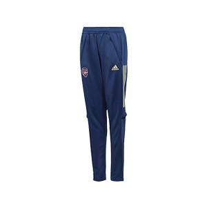 Pantalón adidas Arsenal entreno niño 2020 2021 - Pantalón largo entrenamiento infantil del Arsenal 2020 2021 - azul marino - miniatura