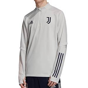 Sudadera adidas Juventus entreno 2020 2021 - Sudadera de entrenamiento de la Juventus 2020 2021 - gris - frontal